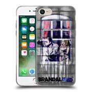 OFFICIAL BRANDALISED BANKSY COLOURED ART Window Soft Gel Case for Apple iPhone 7 (C_1F9_18DFC)