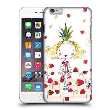 OFFICIAL TURNOWSKY TANGERINE ZEBRA Strawberry Fun Hard Back Case for Apple iPhone 6 Plus / 6s Plus (9_10_1CEA0)