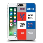 Personalized Crystal Palace FC 2016/17 South London And Proud Soft Gel Case for Apple iPhone 7 Plus