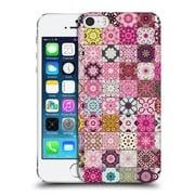 OFFICIAL GIULIO ROSSI PATCHWORK Floral Hard Back Case for Apple iPhone 5 / 5s / SE (9_D_1D8D1)