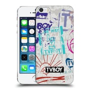 OFFICIAL TVBOY STENCIL ALL OVER Three Hard Back Case for Apple iPhone 5 / 5s / SE (9_D_19A69)