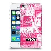 OFFICIAL TVBOY STENCIL ALL OVER Six Hard Back Case for Apple iPhone 5 / 5s / SE (9_D_19A6C)
