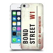 OFFICIAL CITY OF WESTMINSTER VINTAGE STREET SIGNS Bond Hard Back Case for Apple iPhone 5 / 5s / SE (9_D_19D59)
