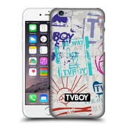 OFFICIAL TVBOY STENCIL ALL OVER Three Hard Back Case for Apple iPhone 6 / 6s (9_F_19A69)