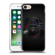 OFFICIAL ARON ART ANIMALS Gorilla Soft Gel Case for Apple iPhone 7 (C_1F9_1DEFB)