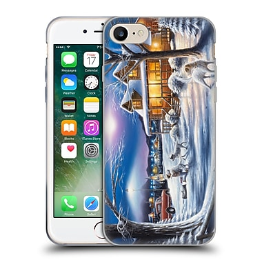 Official CHUCK BLACK CABIN Welcome Home Soft Gel Case for Apple iPhone 7 (C_1F9_1AE85)