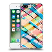 OFFICIAL AMY SIA GEOMETRIC Check Stripe Soft Gel Case for Apple iPhone 7 Plus (C_1FA_1AB51)