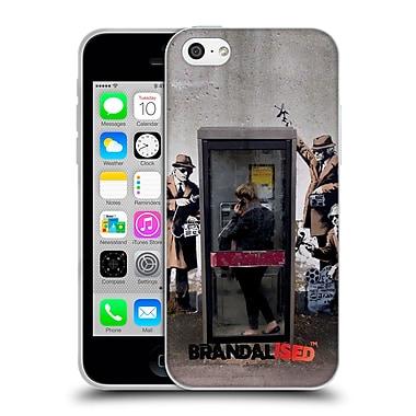 OFFICIAL BRANDALISED BANKSY GRAFFITI Spy Booth Soft Gel Case for Apple iPhone 5c (C_E_18DD3)