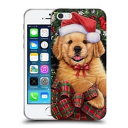 Official Christmas Mix Pets Jenny Newland Puppy Soft Gel Case for Apple iPhone 5 / 5s / SE (C_D_1D397)
