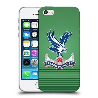 Official Crystal Palace FC 2016/17 Players Kit GK Away Soft Gel Case for Apple iPhone 5 / 5s / SE (C_D_1E195)