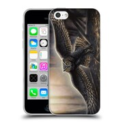 Official CHUCK BLACK BIRD ART Out Of The Dark Soft Gel Case for Apple iPhone 5c (C_E_1AE74)