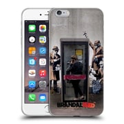 OFFICIAL BRANDALISED BANKSY GRAFFITI Spy Booth Soft Gel Case for Apple iPhone 6 Plus / 6s Plus (C_10_18DD3)