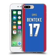 Official Crystal Palace FC 2016/17 Players Home Kit Christian Benteke Soft Gel Case for Apple iPhone 7 Plus (C_1FA_1E629)