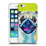 Official Dawgart Dogs Puglicious Soft Gel Case for Apple iPhone 5 / 5s / SE (C_D_1A439)