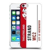 OFFICIAL CITY OF WESTMINSTER THEATRELAND Strand Red Hard Back Case for Apple iPhone 5 / 5s / SE (9_D_19D96)