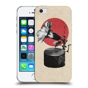 OFFICIAL ALI GULEC WITH ATTITUDE Gramophone Soft Gel Case for Apple iPhone 5 / 5s / SE (C_D_1BD74)