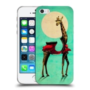 OFFICIAL ALI GULEC WITH ATTITUDE Giraffe Soft Gel Case for Apple iPhone 5 / 5s / SE (C_D_1BD73)