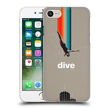 OFFICIAL FRANK MOTH VINTAGE Dive Hard Back Case for Apple iPhone 7 (9_1F9_1C50B)