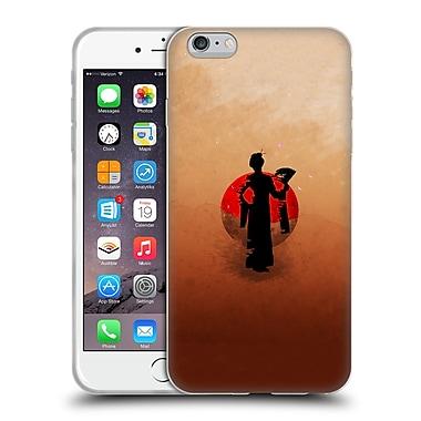 OFFICIAL ARON ART JAPANESE SILHOUETTE The Geisha Reboot Soft Gel Case for Apple iPhone 6 Plus / 6s Plus (C_10_1DF06)