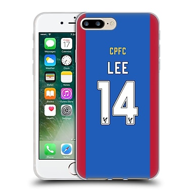 Official Crystal Palace FC 2016/17 Players Home Kit Chung-Yong Lee Soft Gel Case for Apple iPhone 7 Plus (C_1FA_1E62E)