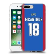 Official Crystal Palace FC 2016/17 Players Home Kit James Mcarthur Soft Gel Case for Apple iPhone 7 Plus (C_1FA_1E62A)