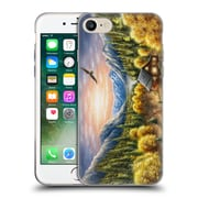 Official CHUCK BLACK CABIN Mountainous Dreams Soft Gel Case for Apple iPhone 7 (C_1F9_1AE7F)