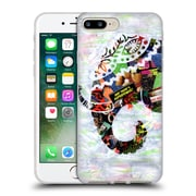 OFFICIAL ARTPOPTART ANIMALS Elephant Soft Gel Case for Apple iPhone 7 Plus (C_1FA_1A219)