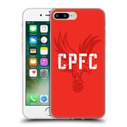 Official Crystal Palace FC The Eagles Eagle Red Soft Gel Case for Apple iPhone 7 Plus (C_1FA_1E18A)