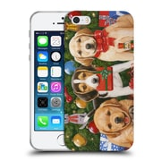 Official Christmas Mix Pets William Vanderdasson Which One's Mine? Puppies Soft Gel Case for Apple iPhone 5 / 5s / SE