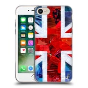 OFFICIAL ARTPOPTART FLAGS Union Jack Soft Gel Case for Apple iPhone 7 (C_1F9_1A224)