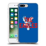 Official Crystal Palace FC The Eagles Royal Blue Eagles Soft Gel Case for Apple iPhone 7 Plus (C_1FA_1E188)