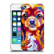 Official Dawgart Dogs King Charles Spaniel Soft Gel Case for Apple iPhone 5 / 5s / SE (C_D_1A440)