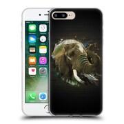 OFFICIAL ARON ART ANIMALS Elephant Soft Gel Case for Apple iPhone 7 Plus (C_1FA_1DEFA)