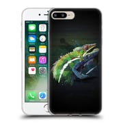 OFFICIAL ARON ART ANIMALS Chameleon Soft Gel Case for Apple iPhone 7 Plus (C_1FA_1DEF6)