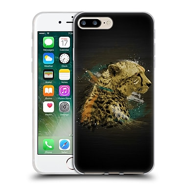 OFFICIAL ARON ART ANIMALS Cheetah Soft Gel Case for Apple iPhone 7 Plus (C_1FA_1DEF7)