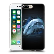 OFFICIAL ARON ART ANIMALS Dolphin Soft Gel Case for Apple iPhone 7 Plus (C_1FA_1DEF8)