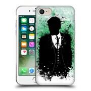 OFFICIAL ARON ART GENTLEMAN Mr. Lizard Soft Gel Case for Apple iPhone 7 (C_1F9_1DF04)