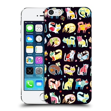 OFFICIAL TURNOWSKY FANTASIA Moonlight Cats Hard Back Case for Apple iPhone 5 / 5s / SE (9_D_1CE3F)