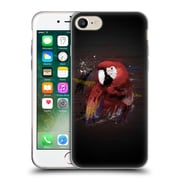 OFFICIAL ARON ART ANIMALS Parrot Soft Gel Case for Apple iPhone 7 (C_1F9_1DEFF)