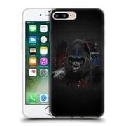 OFFICIAL ARON ART ANIMALS Gorilla Soft Gel Case for Apple iPhone 7 Plus (C_1FA_1DEFB)
