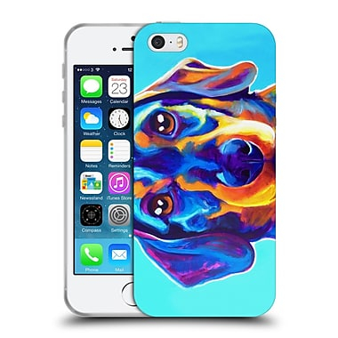 Official Dawgart Dogs Dachsund Oscar Soft Gel Case for Apple iPhone 5 / 5s / SE (C_D_1A43A)