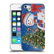 Official Christmas Mix Snowman William Vanderdasson Decorating Tree Soft Gel Case for Apple iPhone 5 / 5s / SE (C_D_1D39D)