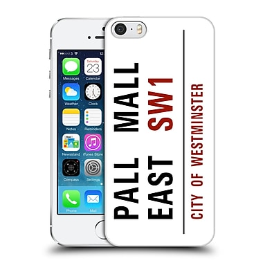 OFFICIAL CITY OF WESTMINSTER STREET SIGNS 3 Pall Mall East Hard Back Case for Apple iPhone 5 / 5s / SE (9_D_19D37)