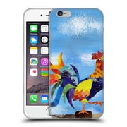 OFFICIAL ARTPOPTART ANIMALS Colorful Rooster Soft Gel Case for Apple iPhone 6 / 6s (C_F_1A21E)