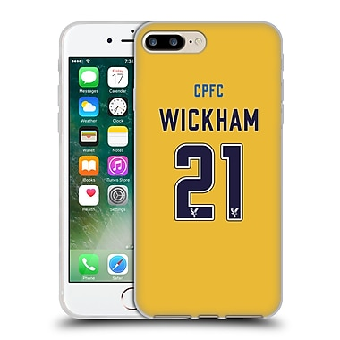 Official Crystal Palace FC 2016/17 Players Away Kit Connor Wickham Soft Gel Case for Apple iPhone 7 Plus (C_1FA_1E641)