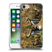 Official CHUCK BLACK DEER FAMILY Whitetail Country Soft Gel Case for Apple iPhone 7 (C_1F9_1AE8C)