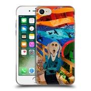 OFFICIAL ARTPOPTART POP CULTURE Scream Soft Gel Case for Apple iPhone 7 (C_1F9_1A22E)