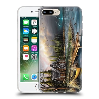Official CHUCK BLACK CABIN The Perfect Storm Soft Gel Case for Apple iPhone 7 Plus (C_1FA_1AE84)