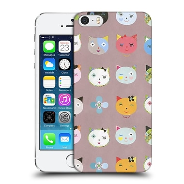 OFFICIAL TURNOWSKY FRUIT SALAD Cats On A Mat Hard Back Case for Apple iPhone 5 / 5s / SE (9_D_1CE55)