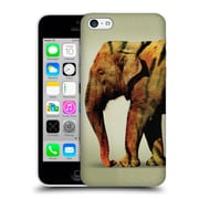 OFFICIAL VIN ZZEP ANIMALS Elephant Tiger Hard Back Case for Apple iPhone 5c (9_E_1E232)